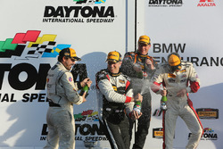 Podium ST: first place Derek Jones, Mat Pombo, MINI JCW Team, second place Jeff Mosing, Eric Foss, Murillo Racing, third place Nick Galante, Spencer Pumpelly, RS1