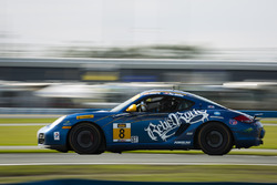 #8 Rebel Rock Racing, Porsche Cayman: David Roberts, Dion von Moltke