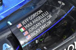La voiture des vainqueurs #10 Wayne Taylor Racing Cadillac DPi: Ricky Taylor, Jordan Taylor, Max Angelelli, Jeff Gordon