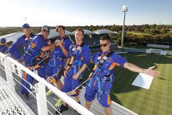Die Fahrer im Adelaide-Oval