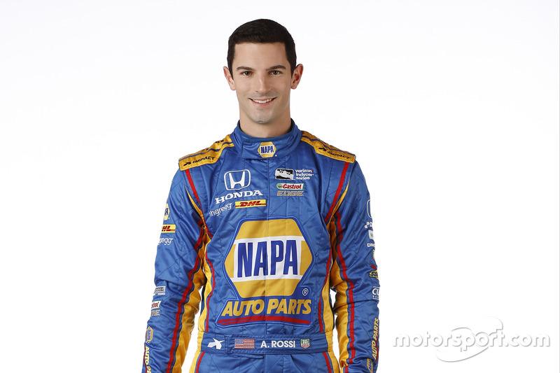#98 Alexander Rossi, Herta - Andretti Autosport / Honda