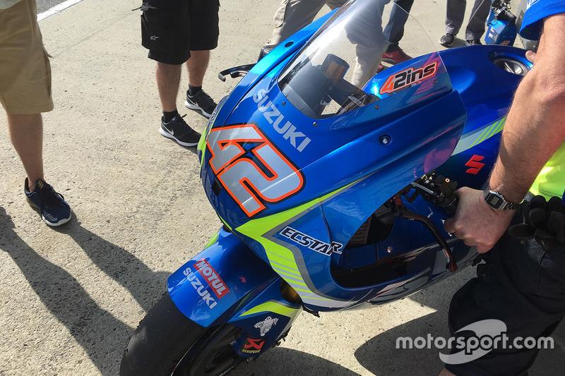 Мотоцикл Алекса Ринса, Team Suzuki MotoGP