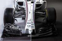 Comparativo Williams FW38 e FW40
