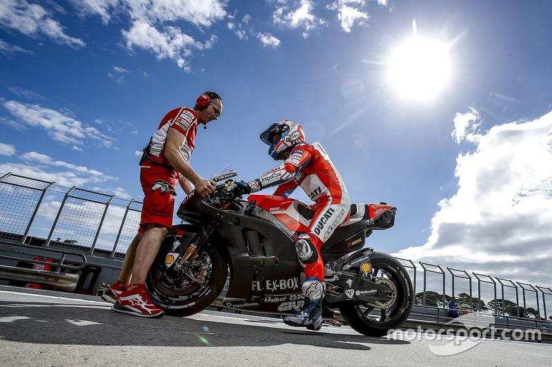 Un nouveau carénage pour Ducati ?