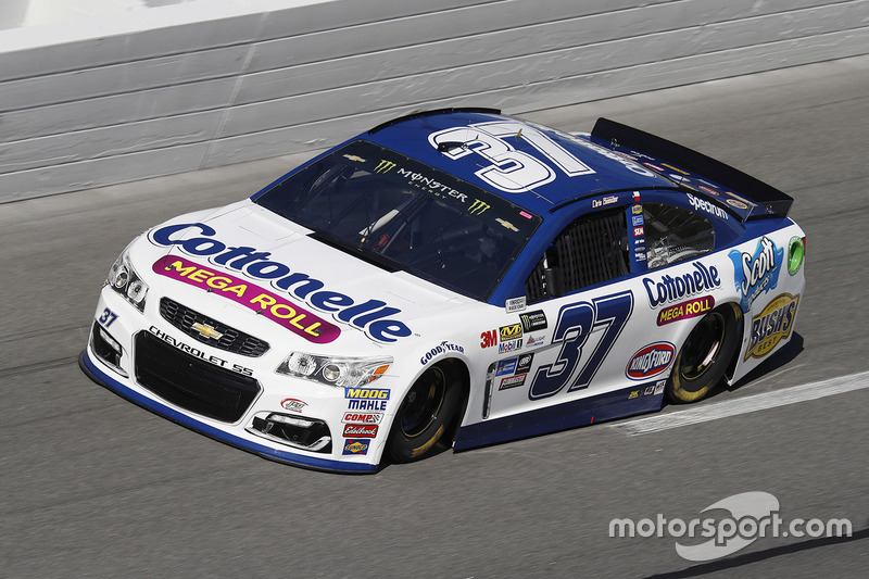 37. Chris Buescher, JTG Daugherty Racing, Chevrolet  (nach Strafe)