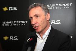 Bob Bell, Renault Sport F1 Jefe equipo técnico con los medios
