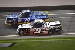 Chase Briscoe, Brad Keselowski Racing Ford, Korbin Forrister, Toyota