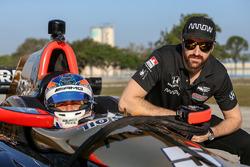 IndyCar-Test in Sebring, Februar