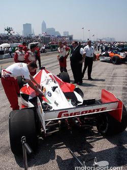 Team Rahal car of Michael Jourdain