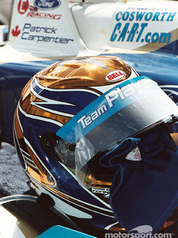 Helmet of Patrick Carpentier