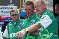 TKG crew members Travis Abel, Steve Challis and Stuart Kenworthy