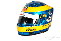 Sébastien Bourdais's helmet