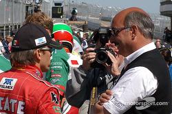 Adrian Fernandez and Bobby Rahal