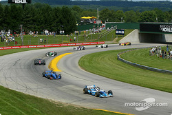 Patrick Carpentier ahead of Alex Tagliani