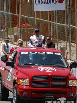 Drivers parade: Alex Tagliani