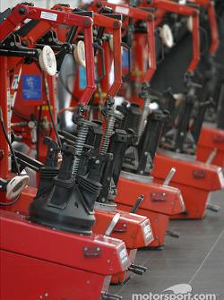 Bridgestone tire mounting machines