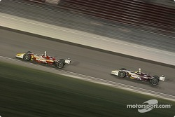 The last 20 laps saw Sebastien and Bruno locked in battle