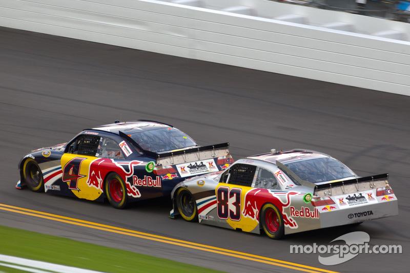 Kasey Kahne, Red Bull Racing Team Toyota, Brian Vickers, Red Bull Racing Team Toyota