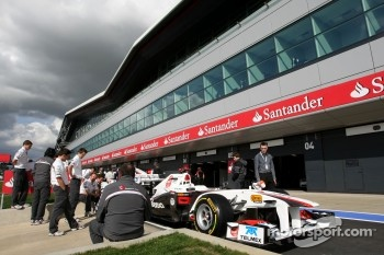 Plenty of action on a renewed Silverstone circuit