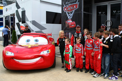 Virgin F1 Team has a partnership with Disney to promote the movie Car 2