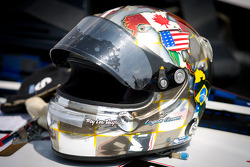 IndyCar two-seater experience: helmet of Logan Gomez