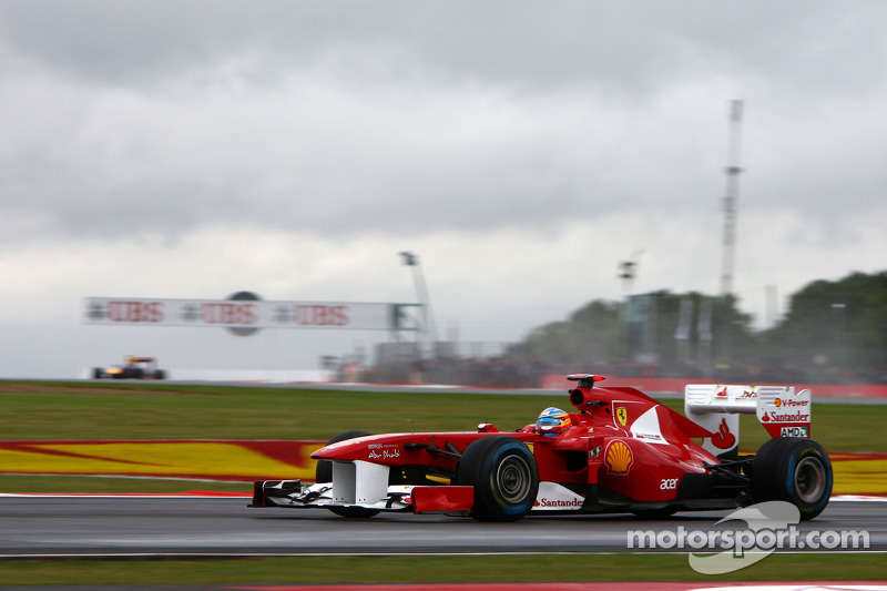 Ganador del Gran Premio de Gran Bretaña de F1 2011: Fernando Alonso (Ferrari 150° Italia)