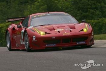 #62 Risi Competizione Ferrari F458 GT: Jaime Melo, Toni Vilander