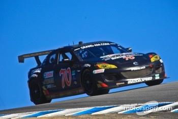 #70 Jonathan Bomarito, Sylvain Tremblay: Mazdaspeed Castrol Edge Mazda RX-8, SpeedSource