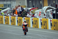 Race winner Dani Pedrosa, Repsol Honda Team