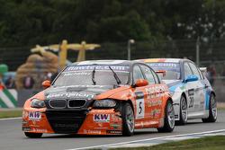 Norbert Michelisz BMW 320 TC, Zengo-Dension Team and Javier Villa BMW 320 TC, Proteam Racing