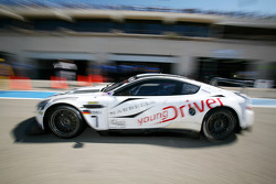 #7 Young Driver AMR Aston Martin DB9: Tomas Enge, Alex Müller