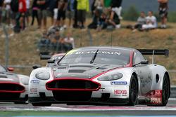 #3 Hexis AMR Aston Martin DB9: Stef Dusseidorp, Clivio Piccione