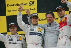 Bruno Spengler, HWA AG, Mercedes AMG C-Klasse 2009; Jamie Green, HWA AG, Mercedes AMG C-Klasse 2009;
