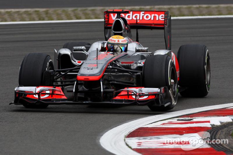 2011 - Nürburgring: Lewis Hamilton, McLaren-Mercedes MP4-26