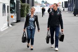 Corina Schumacher, Corinna, esposa de Michael Schumacher, Mercedes GP F1 Team