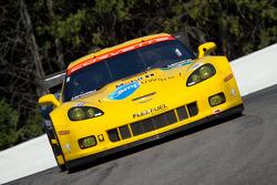 Olivier Beretta and Tom Milner, Chevrolet Corvette C6 ZR1