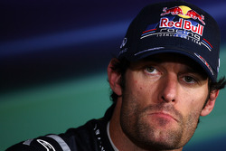 Third place Mark Webber, Red Bull Racing