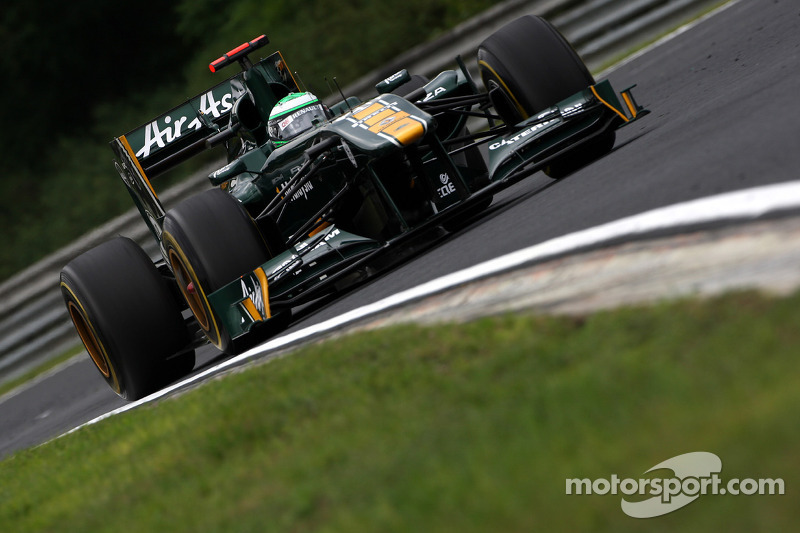 Team Lotus 2011: Heikki Kovalainen, Lotus T128