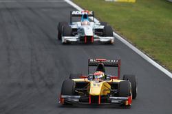 Romain Grosjean leads Charles Pic