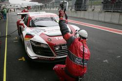 Audi Sport Team Phoenix Audi R8 LMS: Marc Basseng, Christopher Haase, Frank Stippler