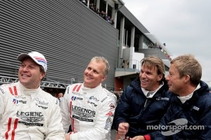 Zak Brown, Johnny Herbert, Stefan Johansson, Richard Dean