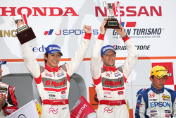 Podium GT500 Winner: S Road Mola GT-R: Masataka Yanagida, Ronnie Quintarelli