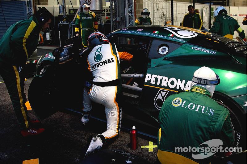 #70 Lotus Sport Italia Lotus Evora GT4: Edoardo Piscopo, Leo Mansell, Greg Mansell, Gianni Giudici