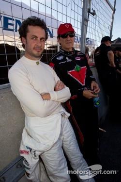 Michel Jourdain, Roush-Fenway Ford and Ron Fellows, Hendrick Motorsport Chevrolet