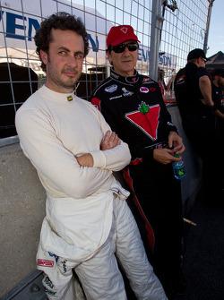 Michel Jourdain, Roush-Fenway Ford en Ron Fellows, Hendrick Motorsport Chevrolet