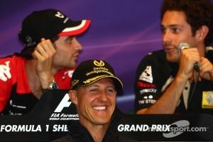 Press conference: Michael Schumacher, Mercedes GP