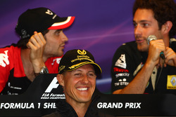 Press conference: Michael Schumacher, Mercedes GP