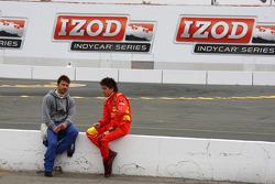 Oriol Servia, Newman/Haas Racing and Sebastian Saavedra, Conquest Racing
