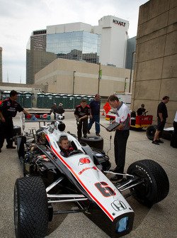 Car of Ryan Briscoe, Team Penske