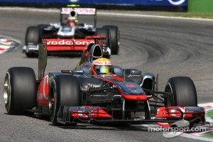 McLaren dominated the first practice session